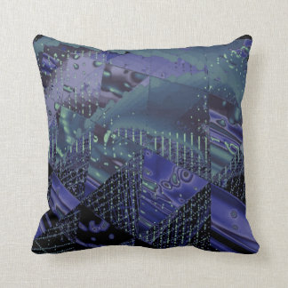 Fractal Colors Art No 390 Throw Pillow