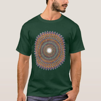 Fractal Cone To Dna Pulse T-Shirt