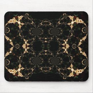 Fractal Cosmic Psychedeli Geometry Mousepad
