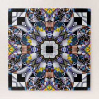 Fractal Crazy Quilt Jigsaw Puzzle