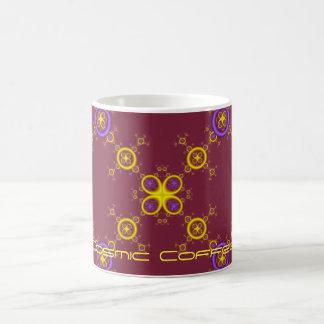 fractal crest 3, Cosmic Coffee Magic Mug
