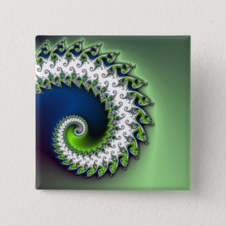 Fractal curly button