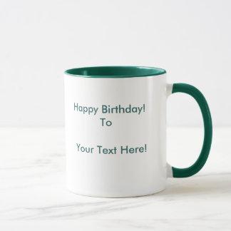 Fractal Dahlia (customise-able) Mug