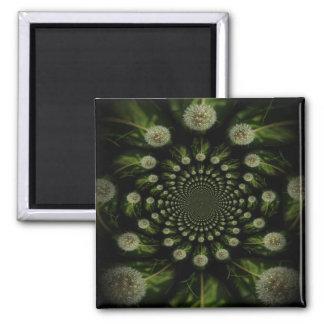 Fractal Dandelion Magnet