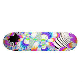 Fractal Daydreams 18.1 Cm Old School Skateboard Deck