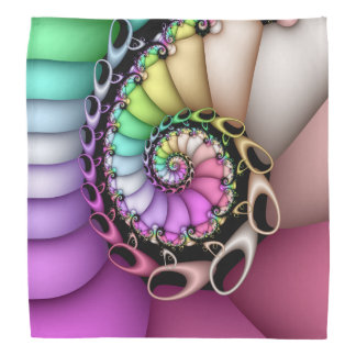 Fractal Enchanted Spiral Bandana
