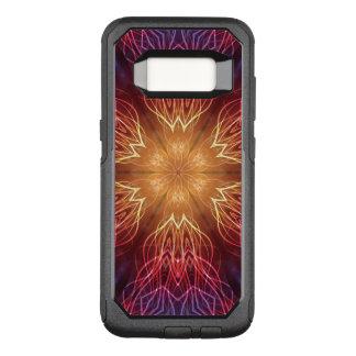 Fractal explosion Samsung Galaxy S8 Otterbox case