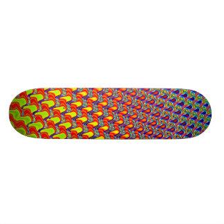 Fractal Facets 18.1 Cm Old School Skateboard Deck