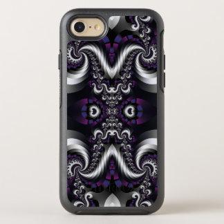 Fractal Fancy Plum Spiral OtterBox Symmetry iPhone 8/7 Case