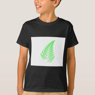 Fractal fern leaf T-Shirt
