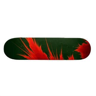 Fractal Flame 21.6 Cm Old School Skateboard Deck