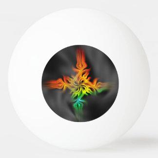 Fractal Flame Ping Pong Ball