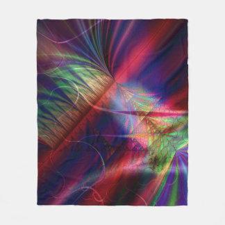 Fractal Fleece Blanket, Empire
