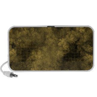 Fractal flora pattern design iPod speakers