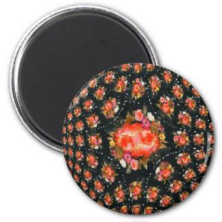 Fractal Flowers Magnet