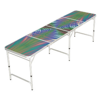Fractal Fronds Pong Table