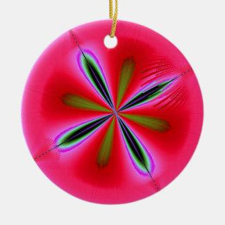 Fractal Fruit Christmas Tree Ornaments