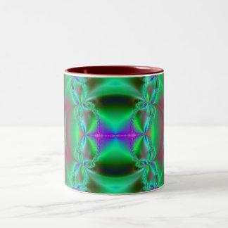 fractal fun Two-Tone mug