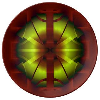 Fractal Geometry Plate