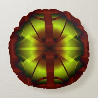 Fractal Geometry Round Cushion