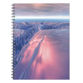 Fractal Glacier Landscape Notebooks