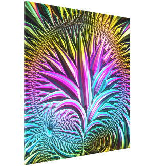 Fractal Glass 5 Gallery Wrapped Canvas
