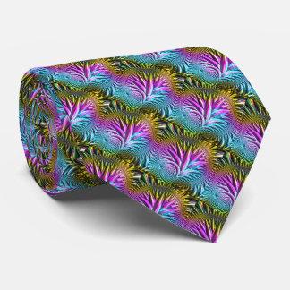 Fractal Glass 5 Tie