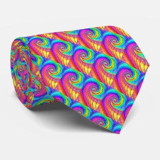Fractal Glass 6 Tie