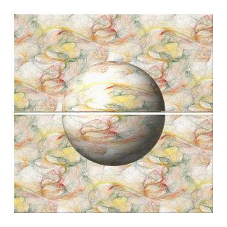 Fractal Globe Gallery Wrap Canvas