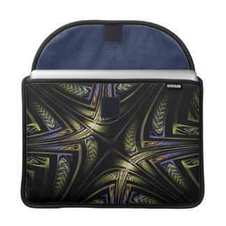 Fractal Golden Celtic MacBook Pro Sleeve