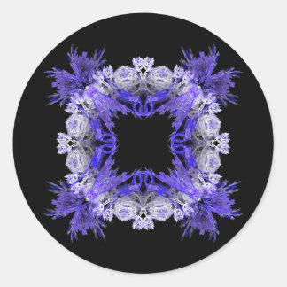 Fractal Goth Pattern Sticker
