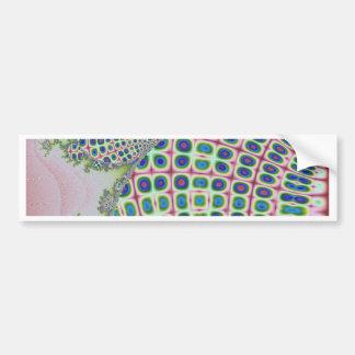 Fractal handwork bumper sticker