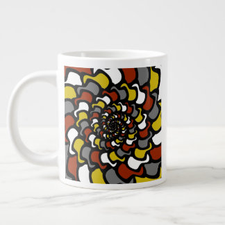 """Fractal Hats"" Giant Coffee Mug"
