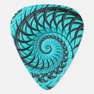 Fractal Image Guitar Picks