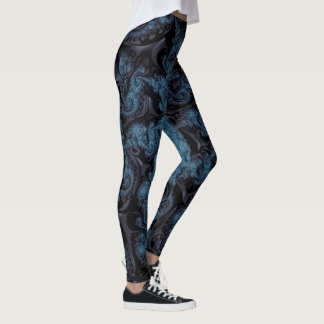Fractal Image Leggings