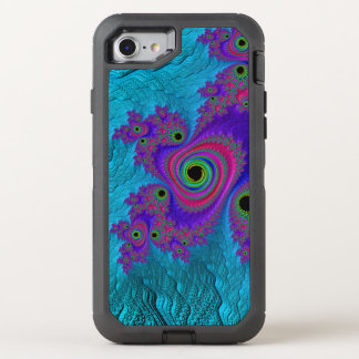 Fractal Image on Otterbox Defender Case - iPhone 7