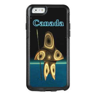 Fractal Inuit Hunter - Canada OtterBox iPhone 6/6s Case