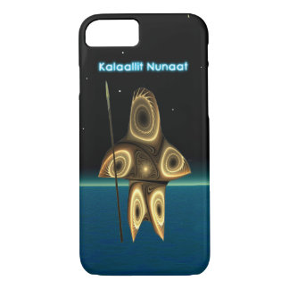 Fractal Inuit Hunter - Greenland iPhone 7 Case