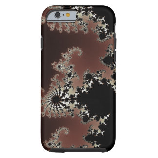 Fractal iPhone/iPad Case - Red Black White