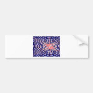 Fractal jpg bumper stickers