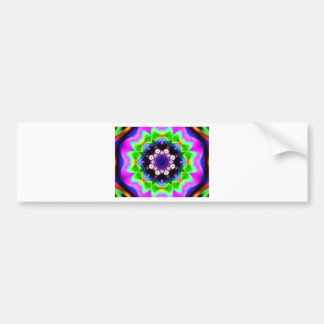 Fractal jpg bumper sticker