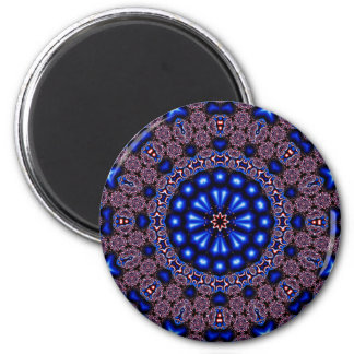 Fractal Kaleidoscope Art 670 Magnet