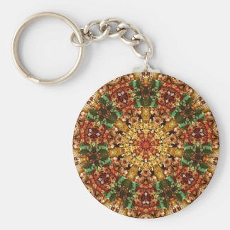 Fractal Kaleidoscope Art 789 Key Chains