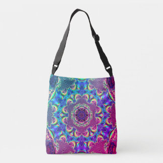 Fractal Kaleidoscope Crossbody Bag