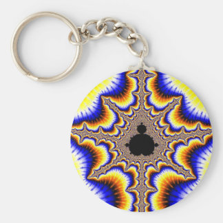 Fractal kind shop headers key ring