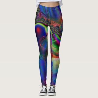 Fractal Leggings, Amoeba Leggings
