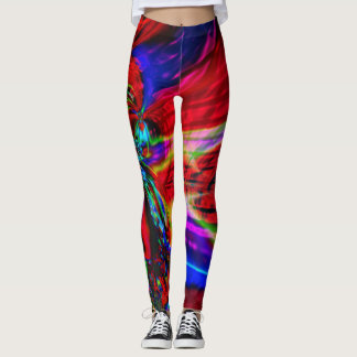 Fractal Leggings, Corona Leggings