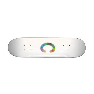 Fractal letter C monogram 21.6 Cm Skateboard Deck