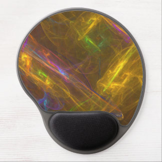 Fractal Light Ergonomic Gel Mousepad