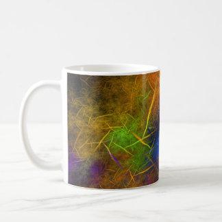 Fractal Lightning (Storm Flame) Coffee Mug